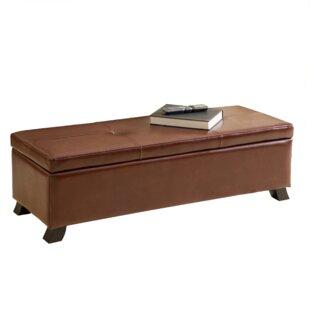 Charlton Home Lemus Upholstered Storage B..