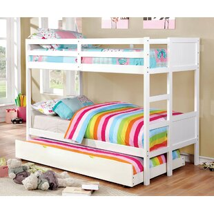 Santucci Full Over Full Bunk Bed by Harriet Bee Herry Up