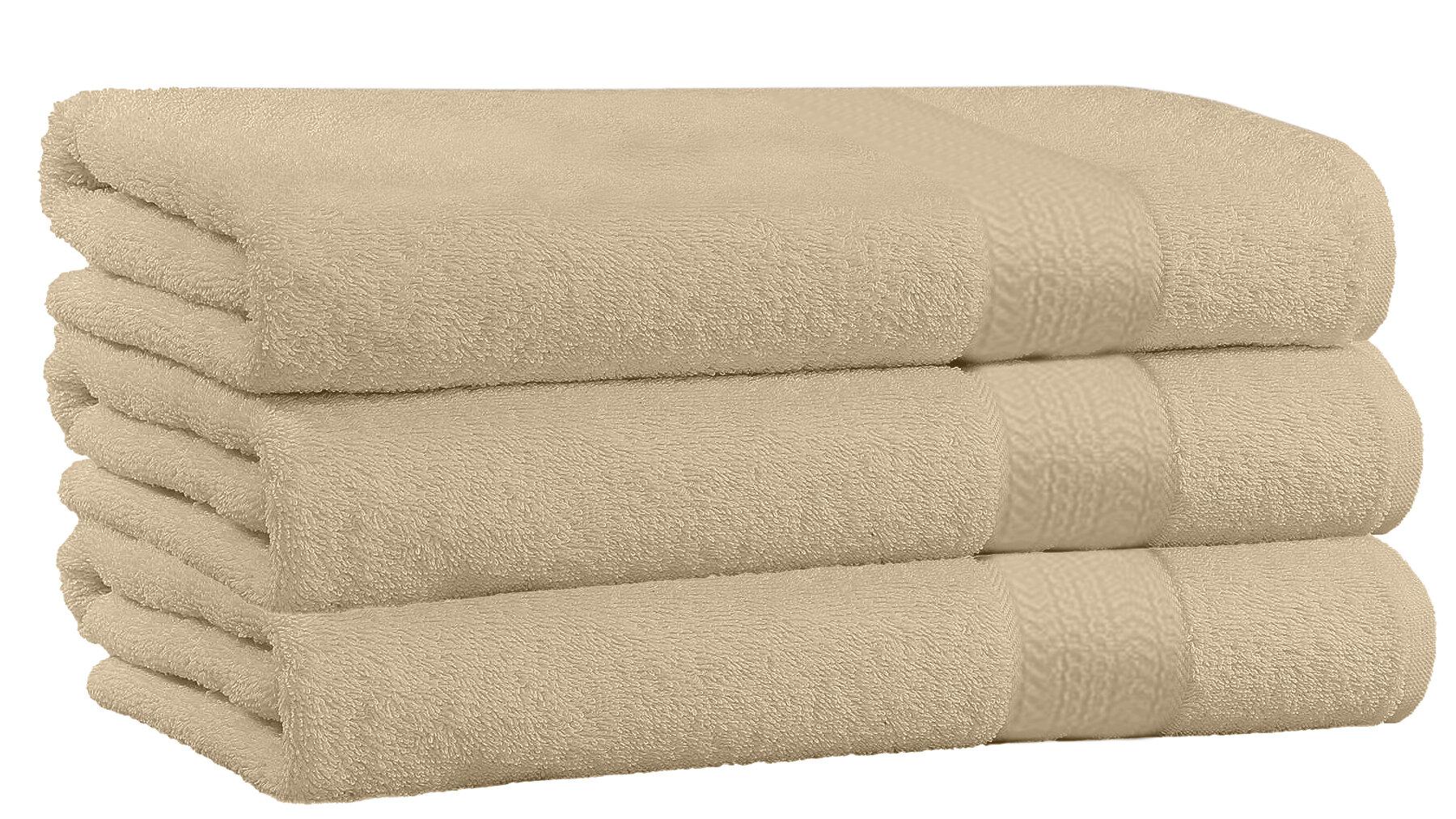 Charlton Home Spurrier 3 Piece 100 Cotton Bath Towel Set Reviews Wayfair