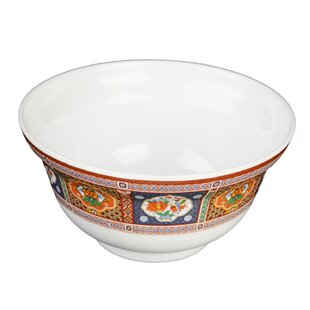 Hendricks 20 oz. Melamine Noodle Bowl (Set of 12)