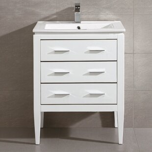Inexpensive Bourdeau 24 Single Bathroom Vanity Set ByWrought Studio
