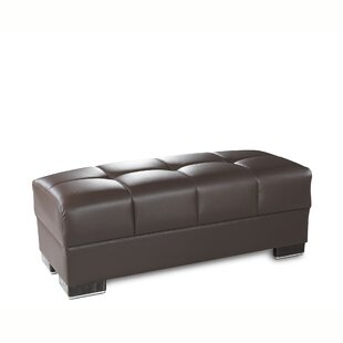Stian Upholstery Ottoman by Latitude Run