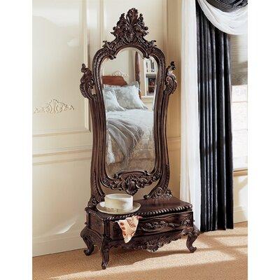 Victorian Dressing Mirror Design Toscano