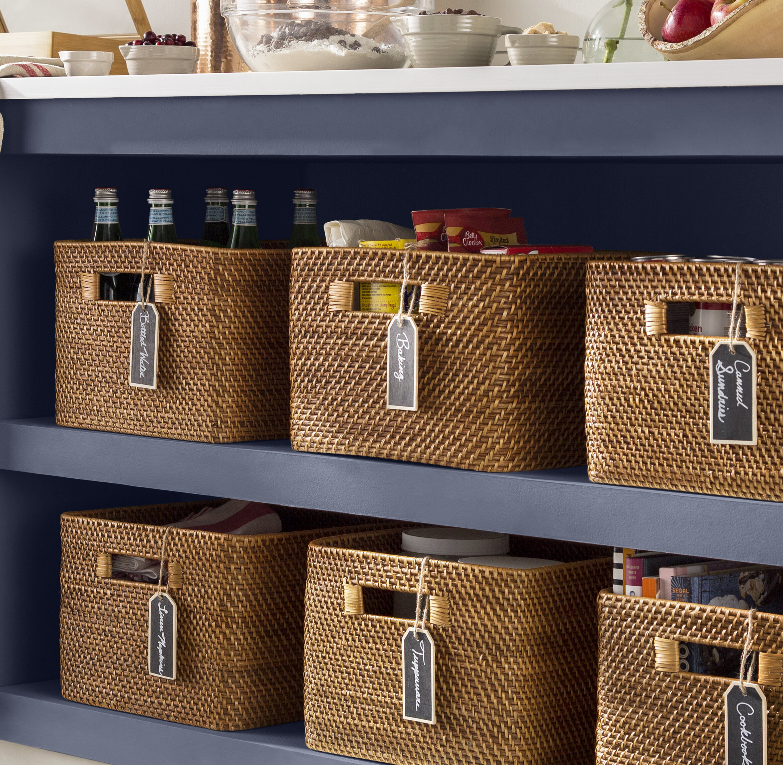 Kouboo Rectangular Rattan Storage Basket U0026 Reviews | Wayfair
