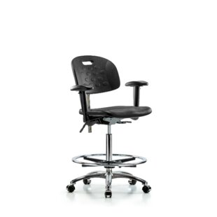 Patience High Bench Office Chair By Symple Stuff