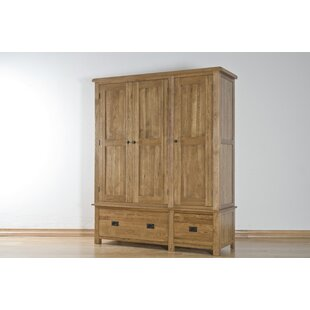 Rayleigh 3 Door Wardrobe By Natur Pur