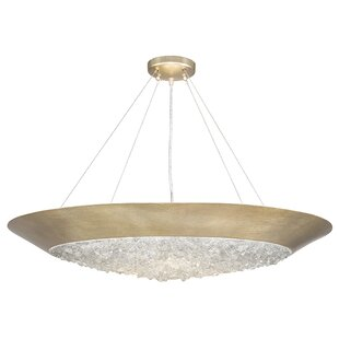 Fine Art Lamps Arctic Halo 3-Light Bowl Pendant