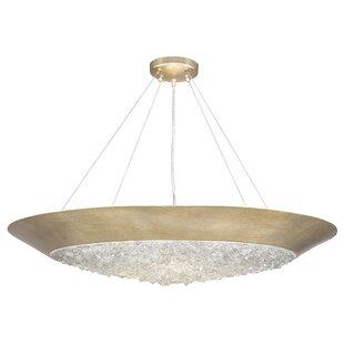 Fine Art Lamps Arctic Halo 3-Light Bowl Pendant