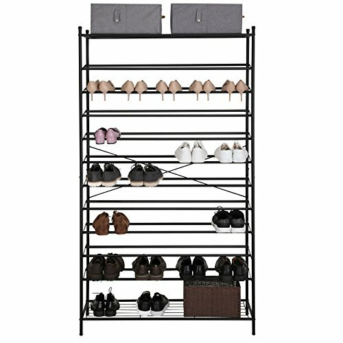 songmics schuhregal f r 70 paar schuhe bewertungen. Black Bedroom Furniture Sets. Home Design Ideas