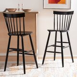 Spindle Bar & Counter Stool by Highland Dunes