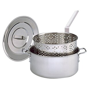 Deep Fryer With Lid, Two Helper Handles And Basket By King Kooker