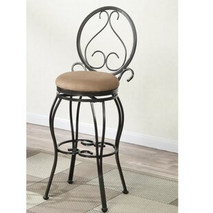 Order Couture 24 Swivel Bar Stool (Set of 2) by Fleur De Lis Living Reviews (2019) & Buyer's Guide