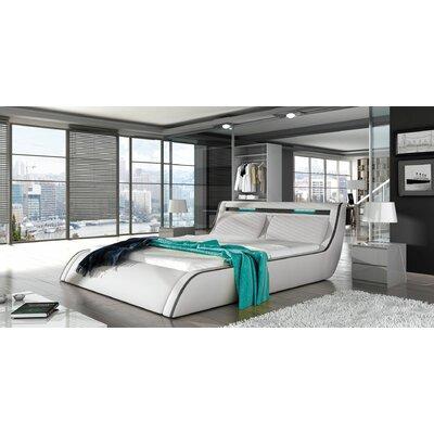 Bonifacio Modern Queen Upholstered Storage Platform Bed