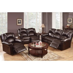 Living Room Sets Leather leather living room sets you'll love | wayfair