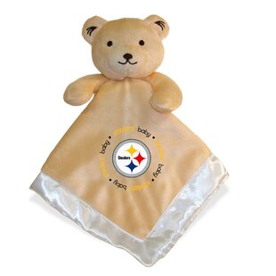 Inexpensive Pittsburgh Steelers Snuggle Bear Blanket By Baby Fanatic