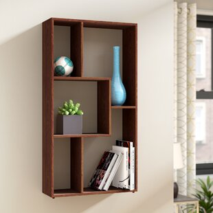 Natalie Multimedia Geometric Bookcase by Zipcode Design