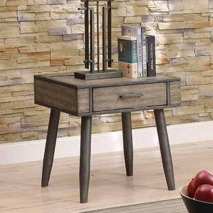 Ashkum End Table with Storage By Foundry Select