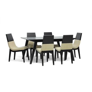 Calla 7 Piece Dining Set Latitude Run