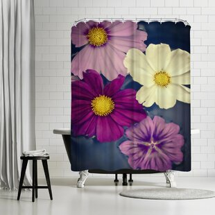 Mirja Paljakka A Floral Four Single Shower Curtain