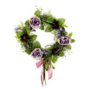 34cm Artificial Wreath By The Seasonal Aisle