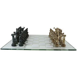 Resin Chess Set Wayfair