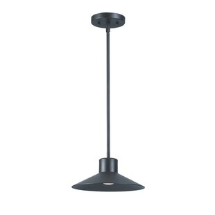 Bargain Corl 1-Light Cone Pendant By Ivy Bronx