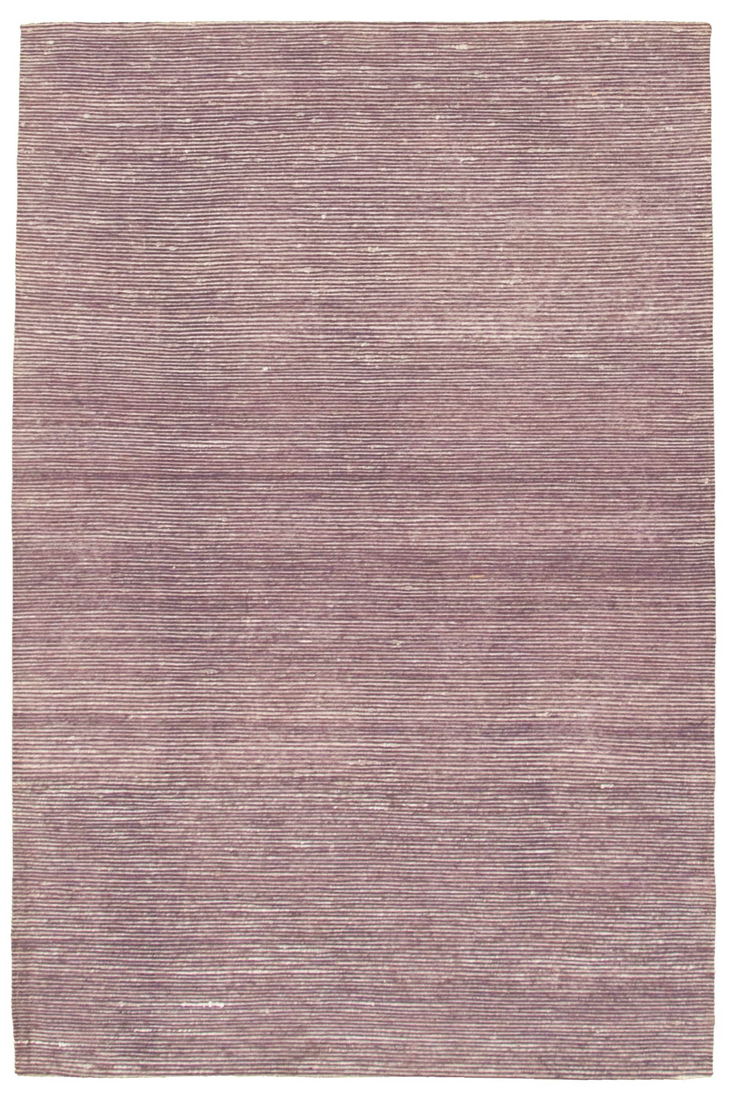 Hand Knotted Purple Area Rug