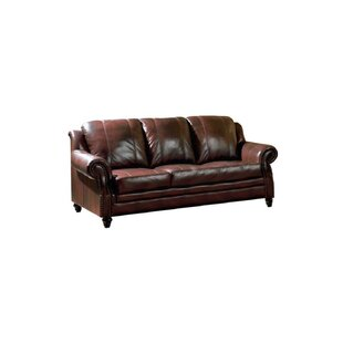 Hensley Leather Sofa