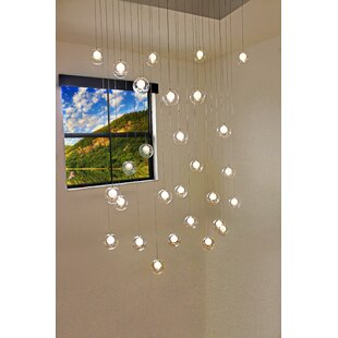 Welles 28-Light Cluster Pendant by Wade Logan