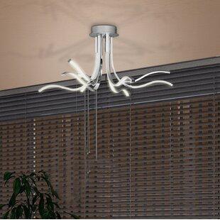 Orren Ellis Comerfo 1-Light LED Novelty Chandelier