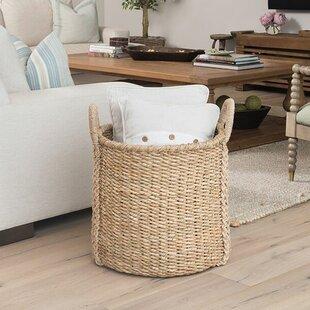 Beau Oversized Storage Wicker Basket