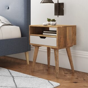 Anaheim Designed 1 Drawer Bedside Table By George Oliver