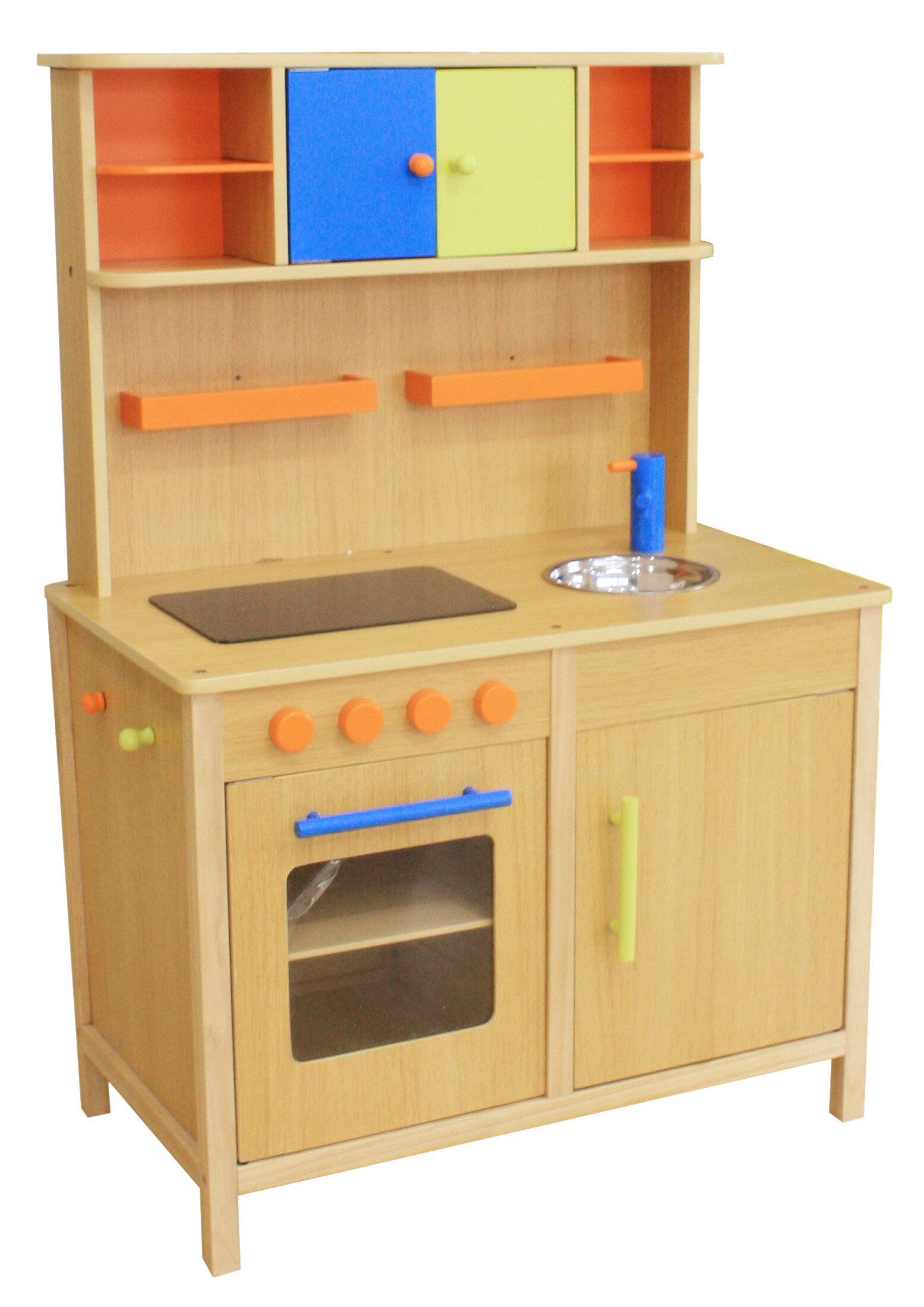 Kids Wooden Play Kitchen | Wayfair