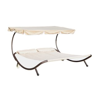 Trademark Innovations Double Sunbed with Canopy
