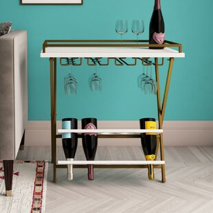Trevia Folding 5 Bottle Floor Wine Rack