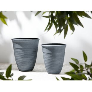 Mondovi 2 Piece Ceramic Plant Pot Set By Sol 72 Outdoor
