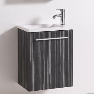Signature Series Wall Mounted 20 Single Bathroom Vanity Set by Belvedere Bath