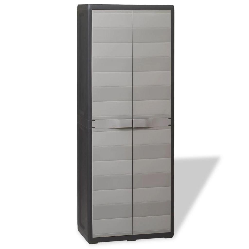 Keter 25-in W x 38-in H x 17-in D Plastic Freestanding Garage Cabinet Adjustable