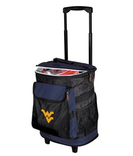 24 Can Collegiate Rolling Cooler - West Virginia