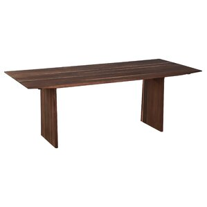 Golden Walnut Dining Table by Loon Peak