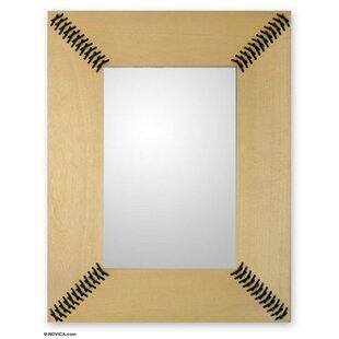 Novica Shoelace Wall Mirror