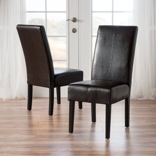 T-Stitch Upholstered Dining Chair (Set Of 2) by Andover Mills Wonderful