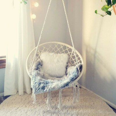 Gwendolen Hammock Chair by Bungalow Rose Great Reviews