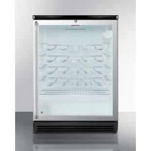 36 Bottle Single Zone Freestanding Commercial Wine Cooler