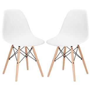 modern white dining chairs allmodern