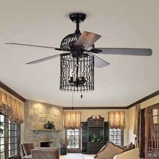 Reviews 52 Charnley 5 Blade Ceiling Fan with Remote By House of Hampton