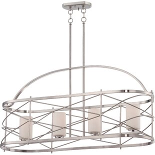 Farrier 4-Light Kitchen Island Pendant by Darby Home Co