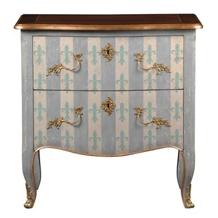 Pizarro 2 Drawer Commode/Chest by One Allium Way