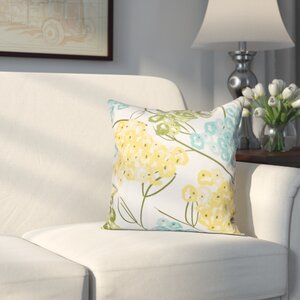 Greenwood Hydrangeas Throw Pillow