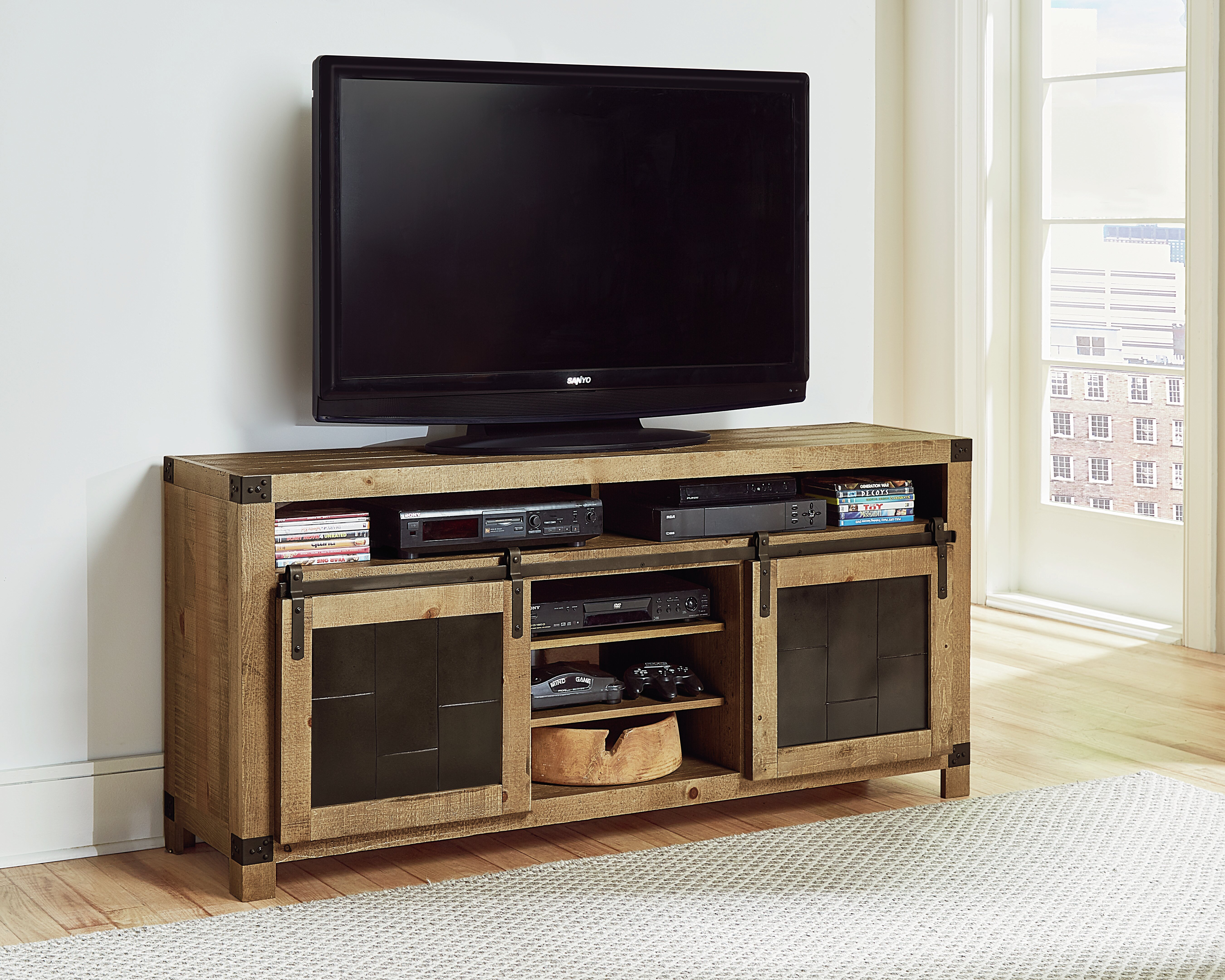 Loon Peak Tv Stand For Tvs Up To 70 Reviews Wayfair